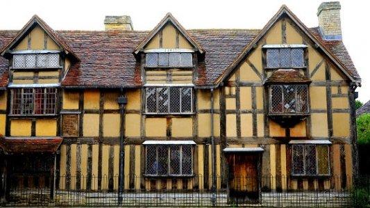 Casa de William Shakespeare.