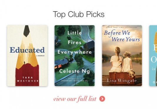 Captura de Book Club.