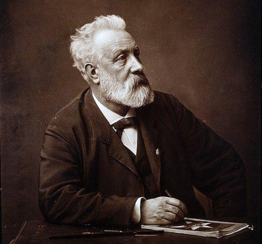 Retrato fotográfico de Julio Verne.