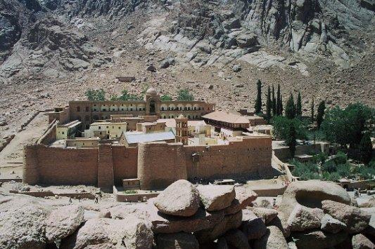 Monasterio de Santa Catalina del Monte Sinaí.
