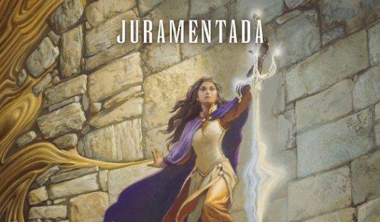 Detalle de la portada de Juramentada.