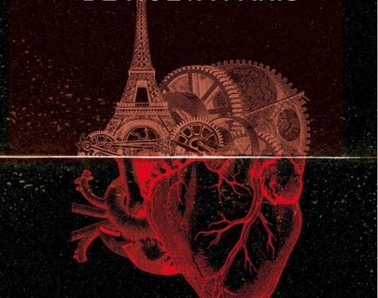 Detalle de la portada de Los últimos días de Nueva París.