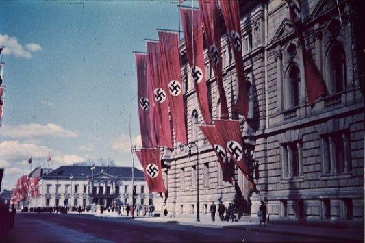 Berlín bajo el dominio nazi.