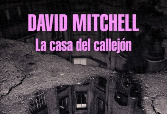 Detalle de la portada de La casa del callejón.