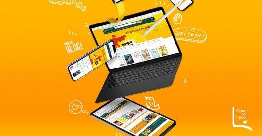 Imagen promocional de la nueva web de Casa del Libro