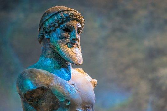 Escultura de Neptuno.