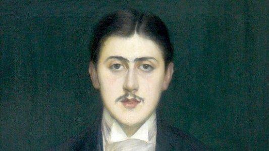 Retratro de Marcel Proust