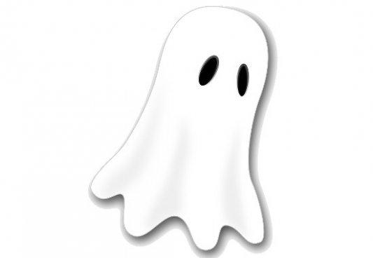 Fantasma con sábana clásico.