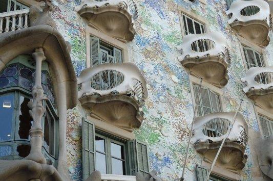 Fachada del edificio Batlló
