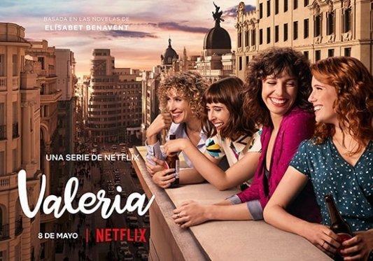 La serie Valeria llega a Netflix