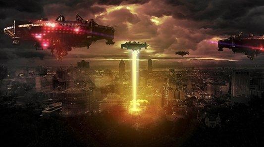 representación guerra en un mundo apocalíptico