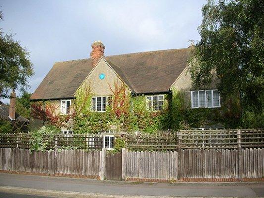 Fachada de la casa de Tolkien en Oxford