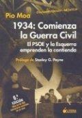 1934: comineza la guerra civil, el PSOE y la Esquerra emprenden la contienda