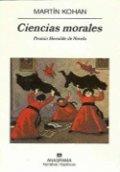Ciencias morales
