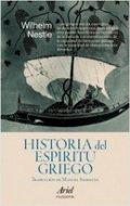 Historia del espíritu griego. Desde Homero hasta Luciano