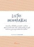 Listas memorables