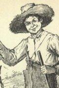 Huckleberry Finn creado por Mark Twain