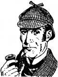 Sherlock Holmes creado por Arthur Conan Doyle
